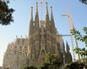 Barcelona. Templo de la Sagrada Família (2012)