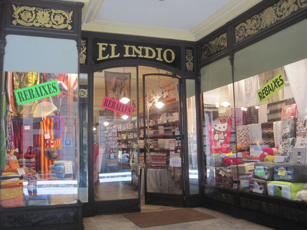 El indio escaparate