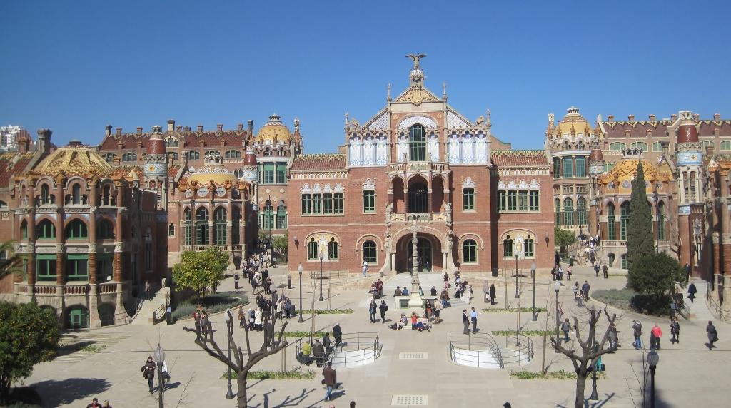 Hospital de Sant Pau pabellones