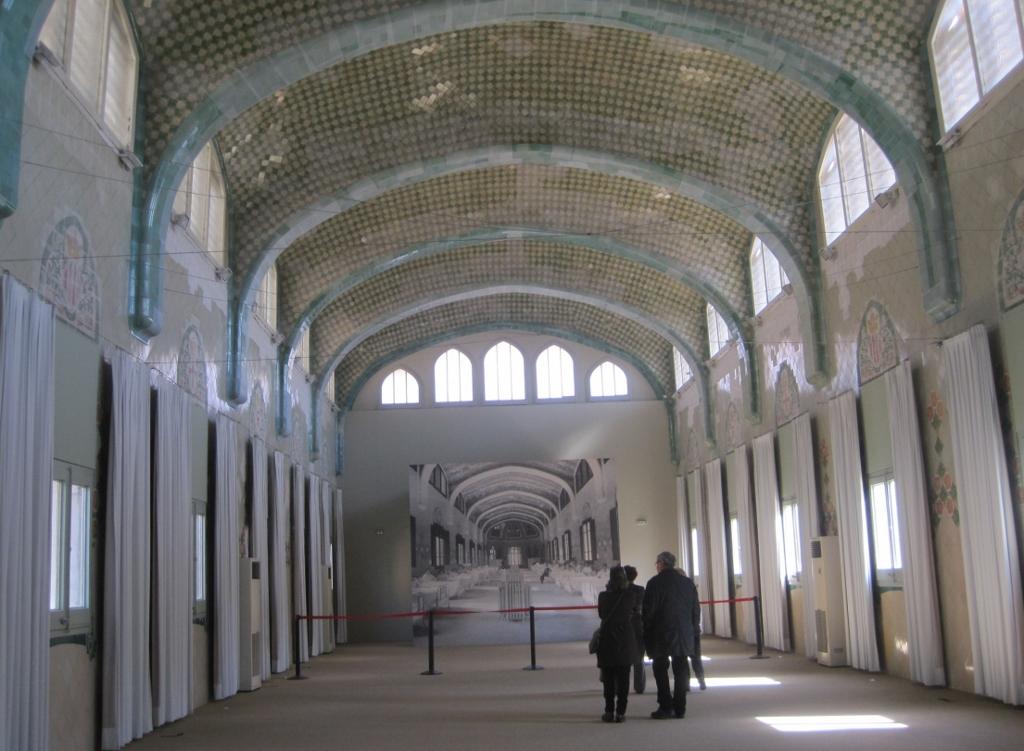 Interior pabellón