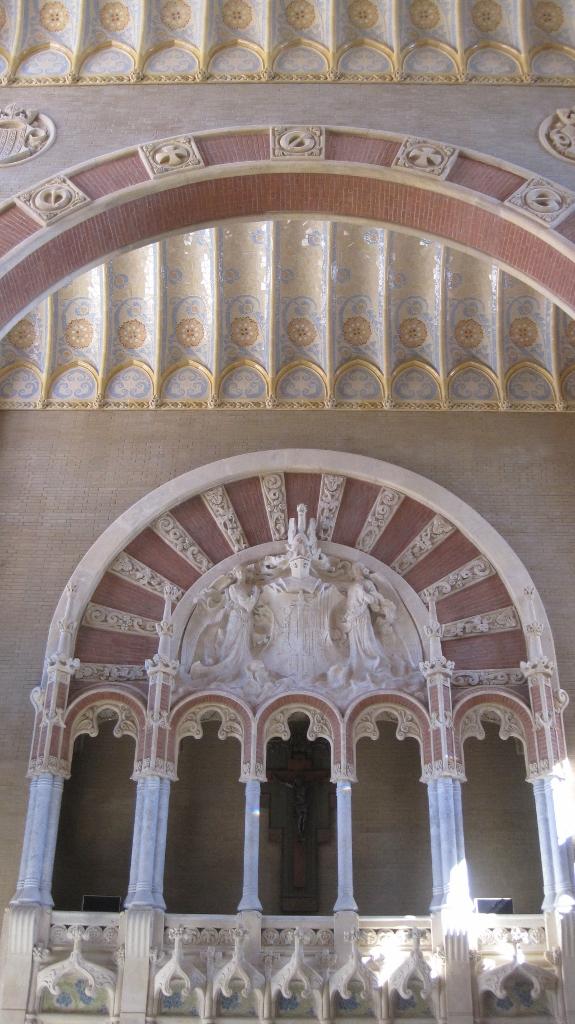 Sala Domènech i Montaner cerámica