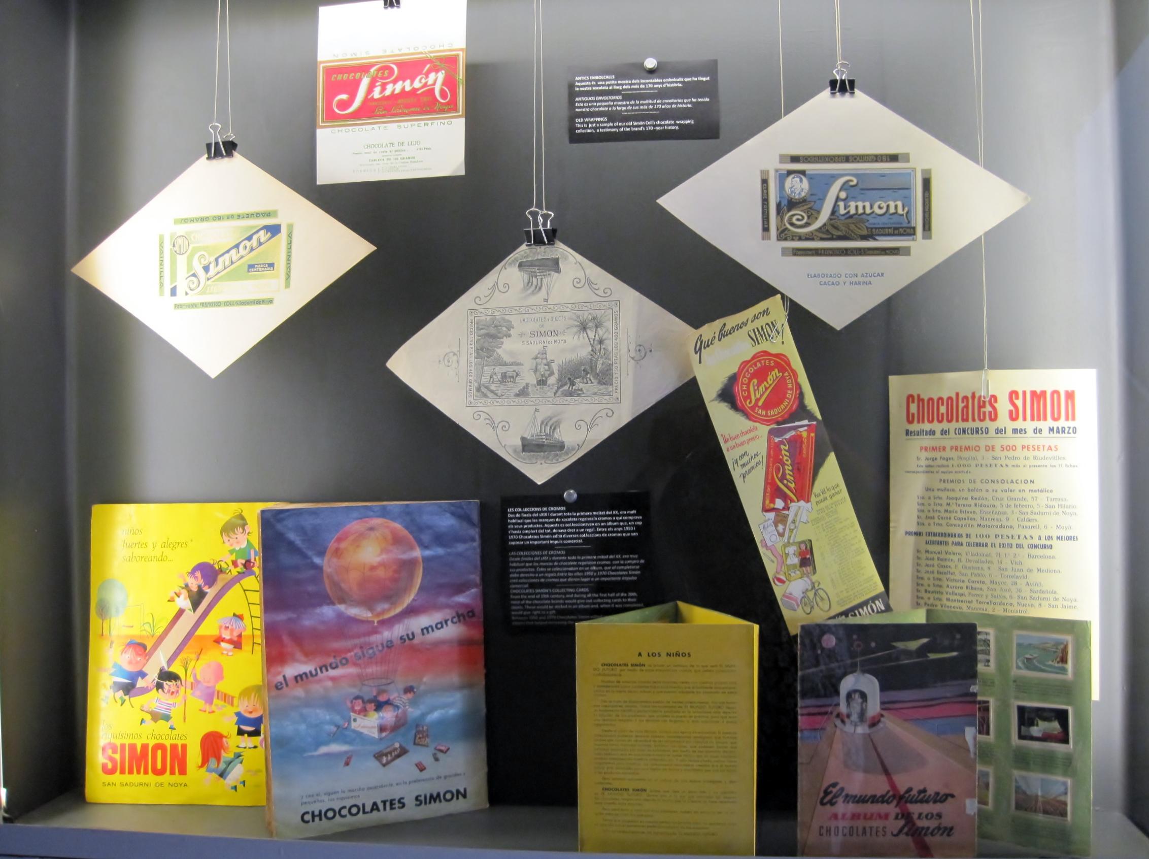 Simón Coll publicidad
