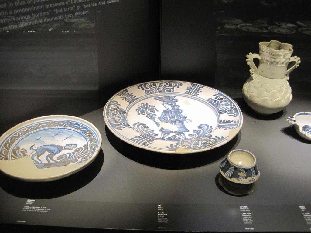 Exposición objetos hallados en el yacimiento del Born