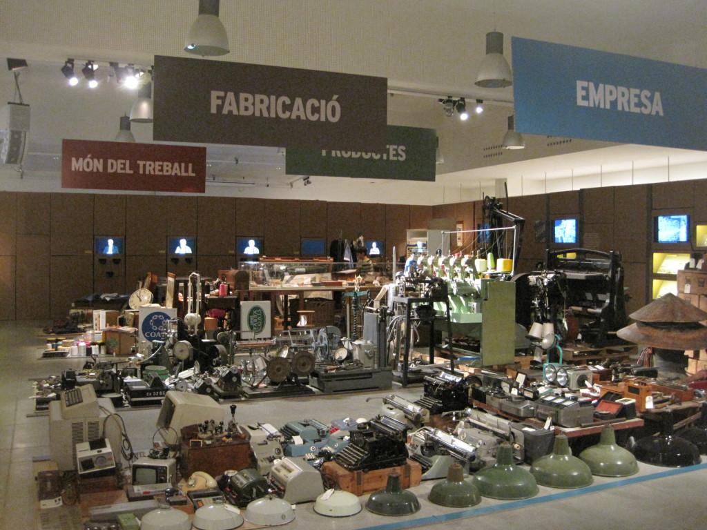 Fabra y Coats exposición