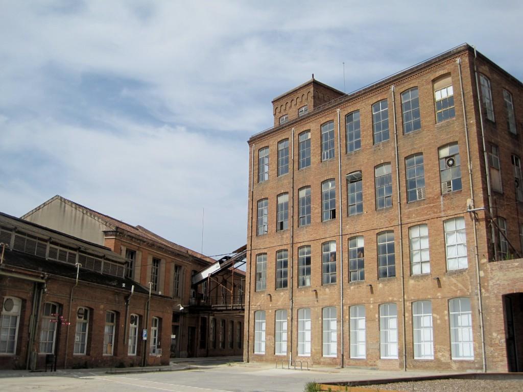 Fabrica i Coats recinto fabril