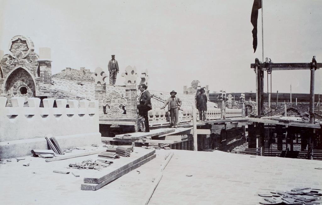 Balneario en construcción