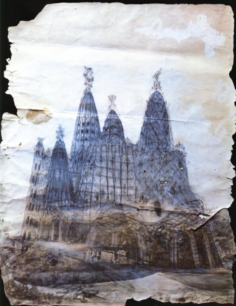 proyecto original iglesia colonia güell