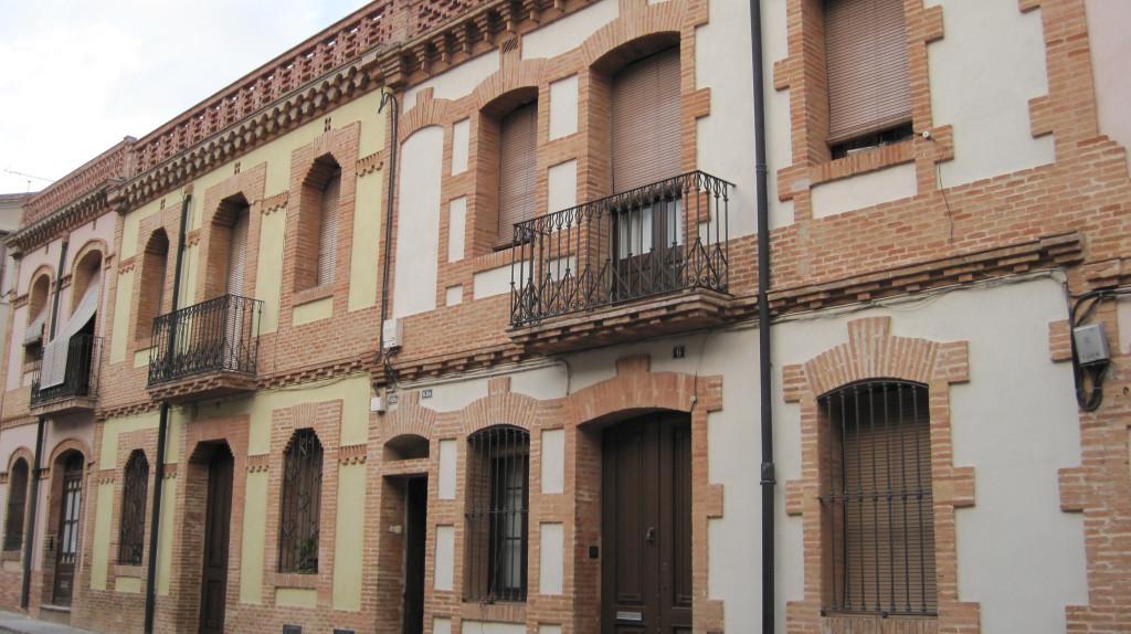 colonia güell casas obreros
