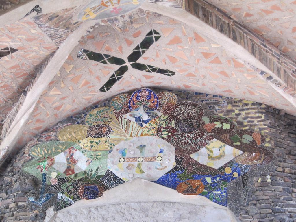 colonia güell pórtico cripta IMG_1990