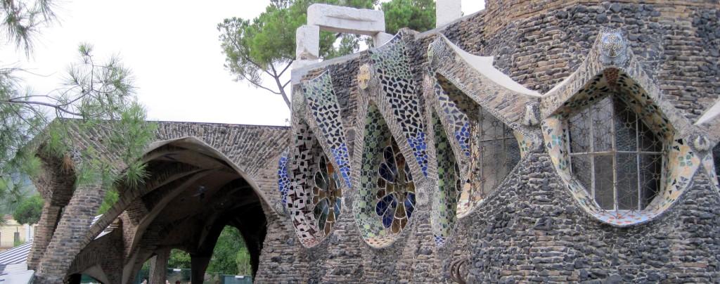 colonia guell detalle cripta