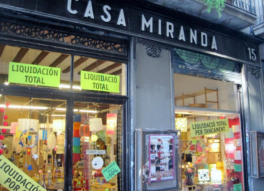 Casa Miranda Cierre