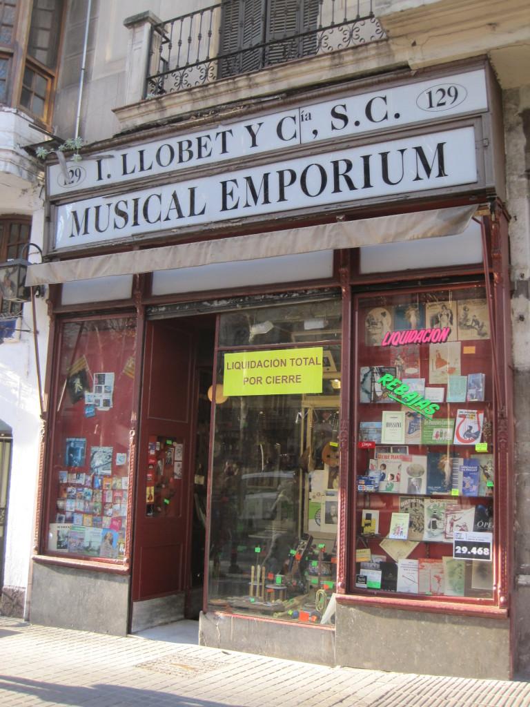 Musical Emporium cierre