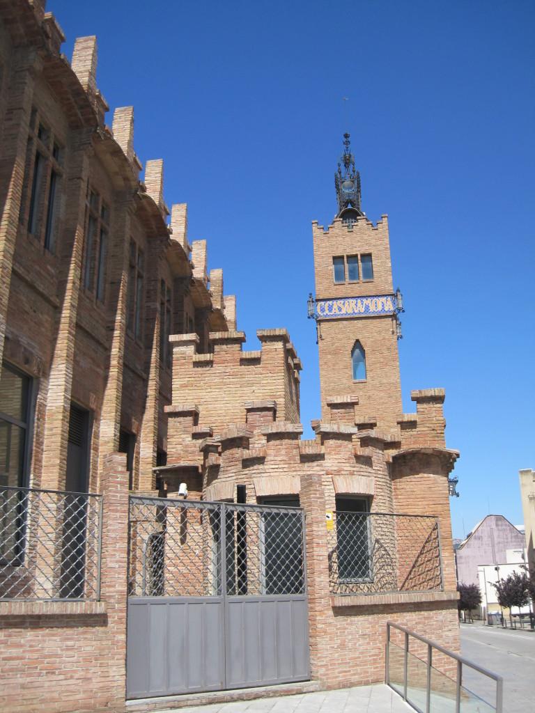 Fábrica Casaramona arquitectura industrial