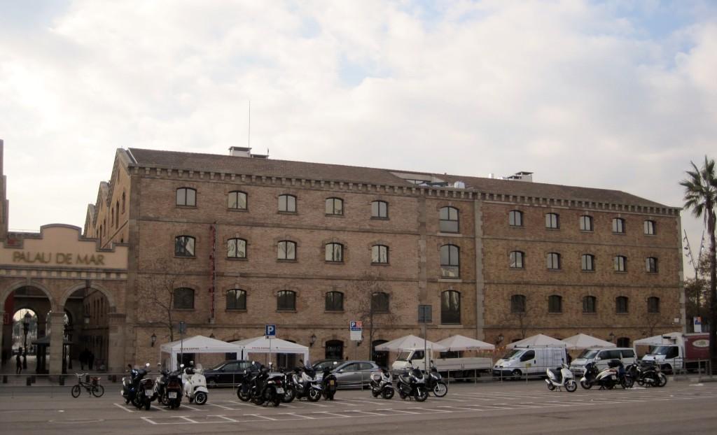 Almacenes generales de comercio Puerto Barcelona