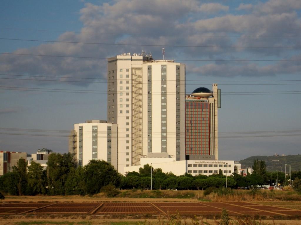 Bellvitge hospital y hotel Hesperia