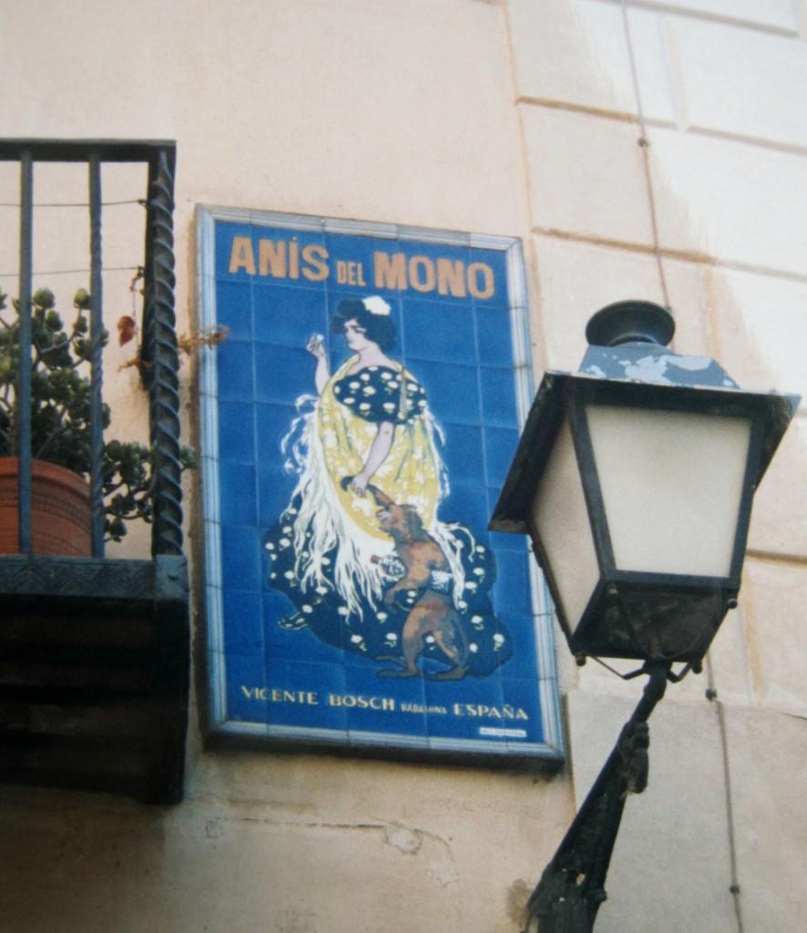 Anís del Mono cartel Casas