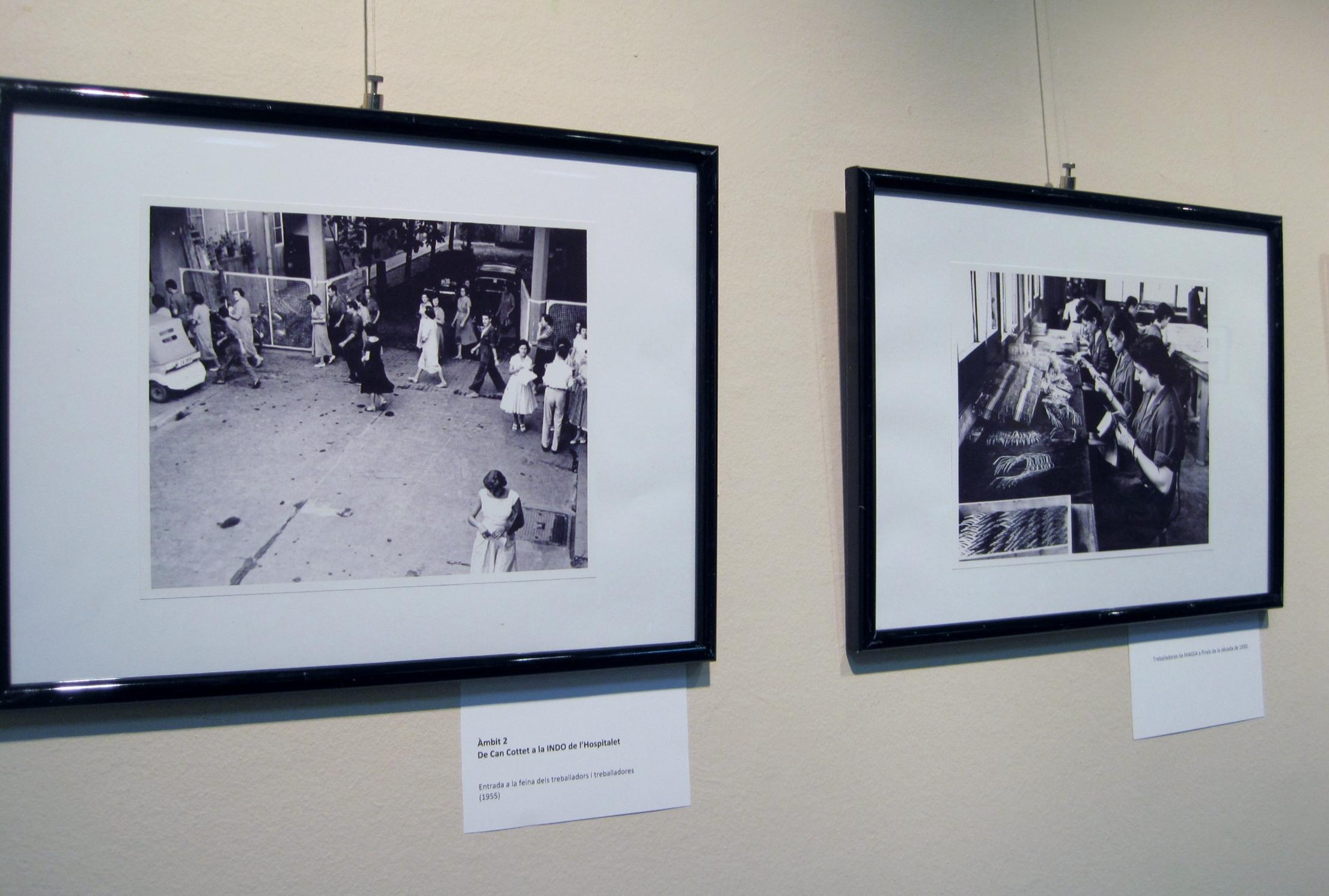 exposició fotos INDO òptica