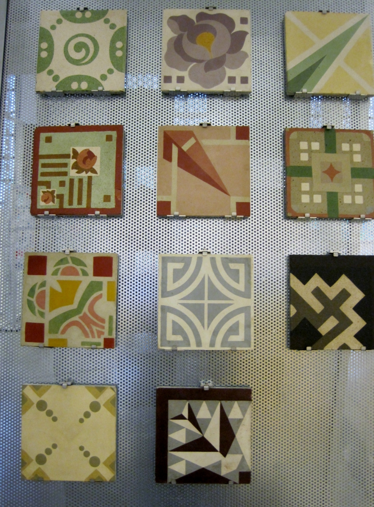 natalia piernas historia de empresa catifes de ciment mosaicos art deco