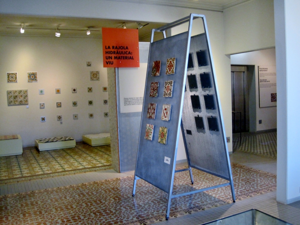 natalia piernas historia de empresa catifes de ciment museu Can Tinturé
