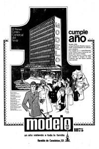 Modelo Anuncio 1970