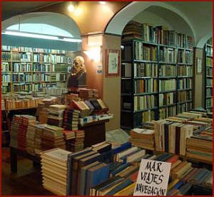 librería Canuda interior