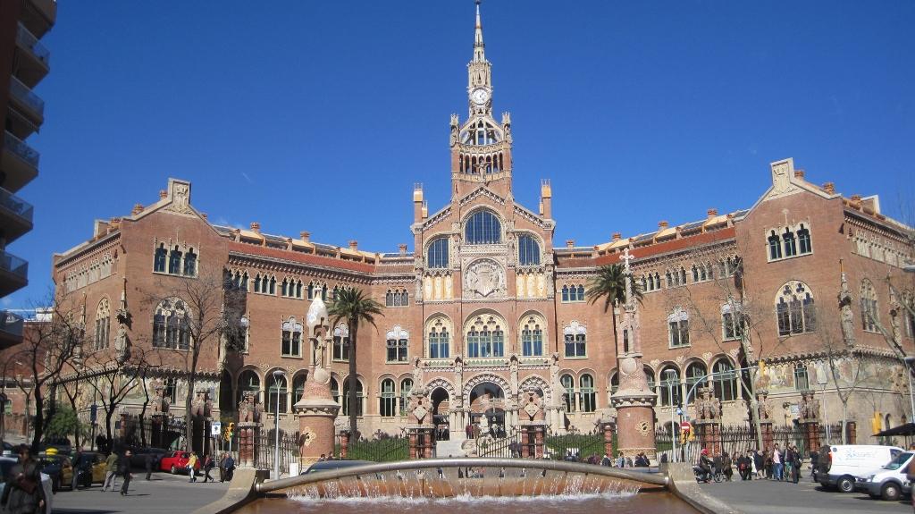 Hospital Sant Pau entrada monumental