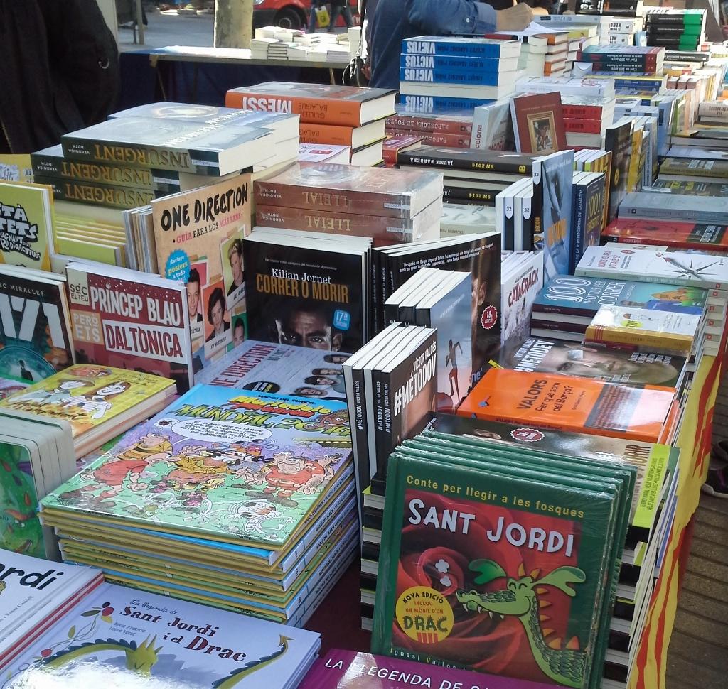 Libros Diada Sant Jordi