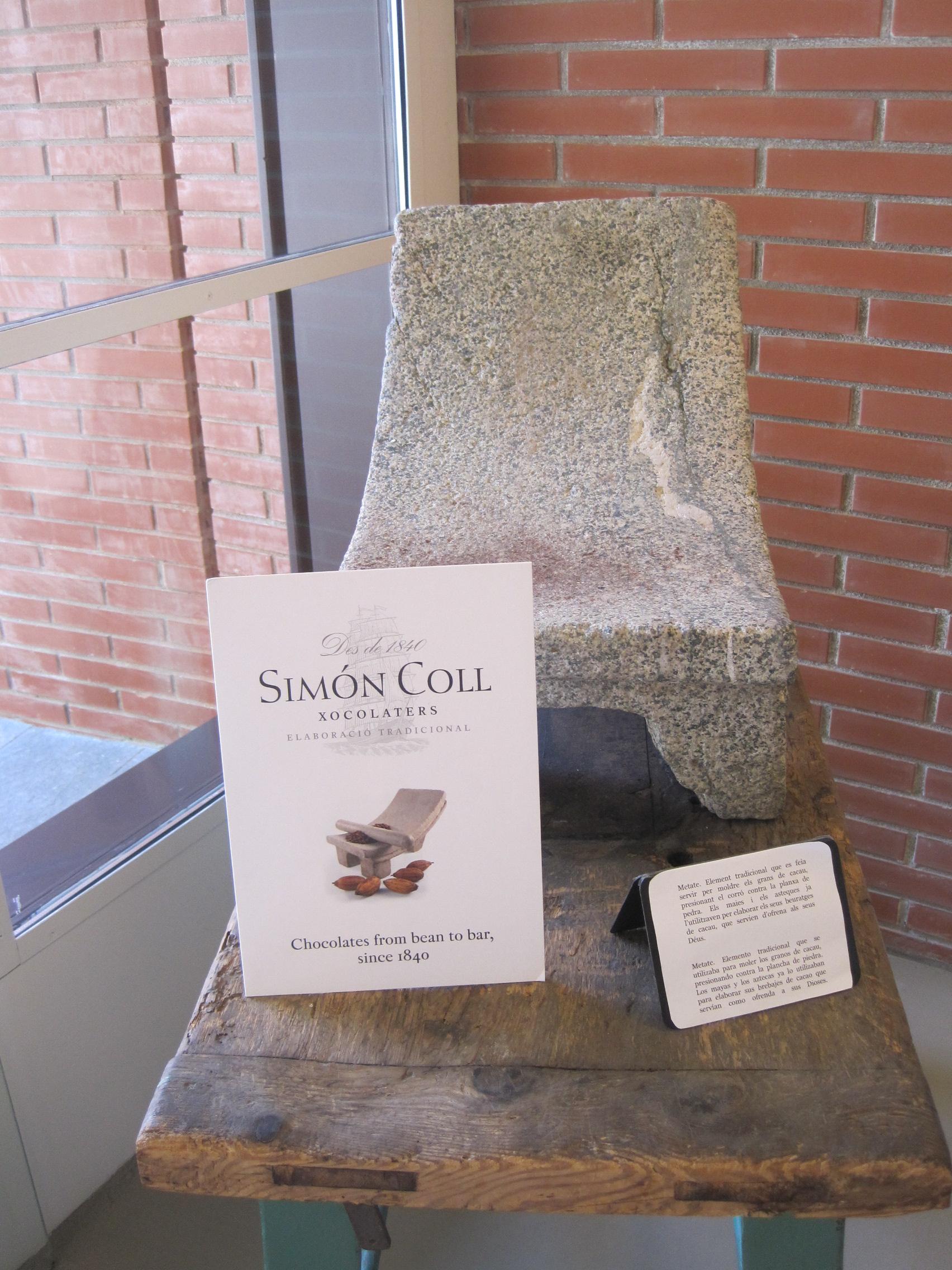 Simón Coll chocolate