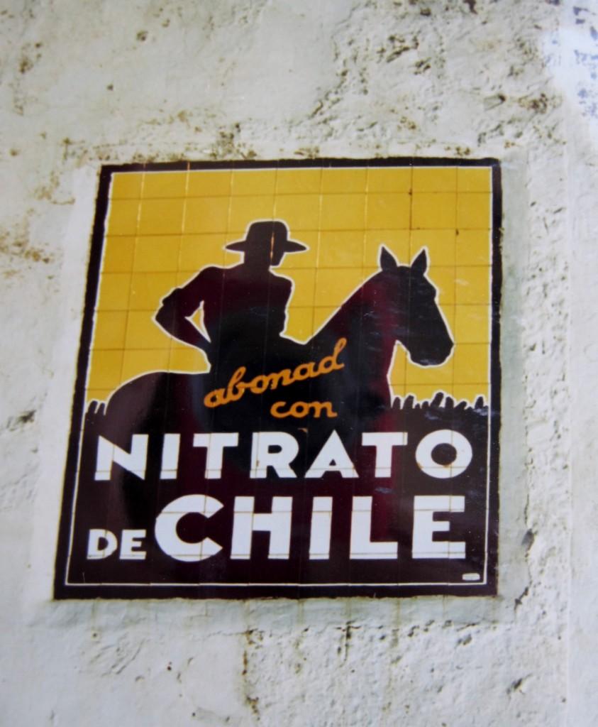 publicidad Nitrato de Chile